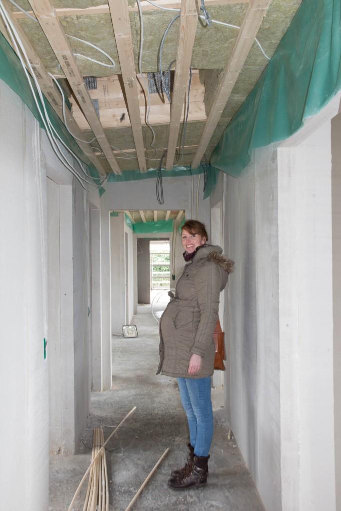 Her i gangen er også lukket af og klargjort til ovenlyskupler