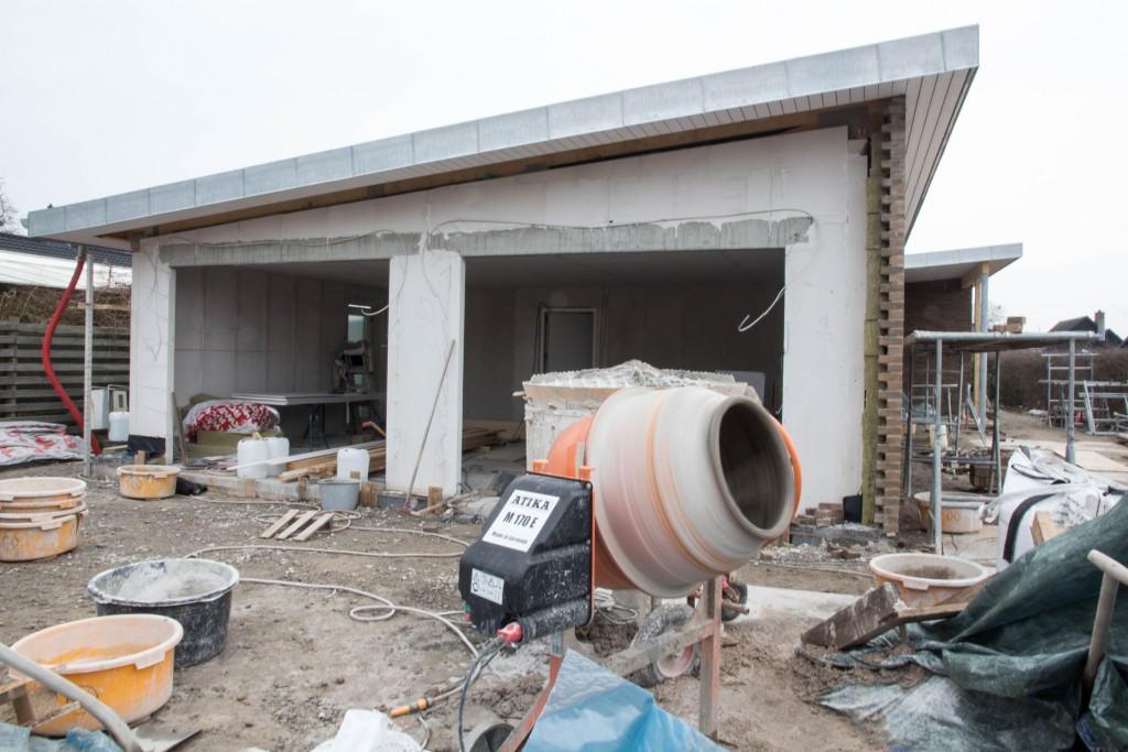 Cementblanderen kører for fuld drøn