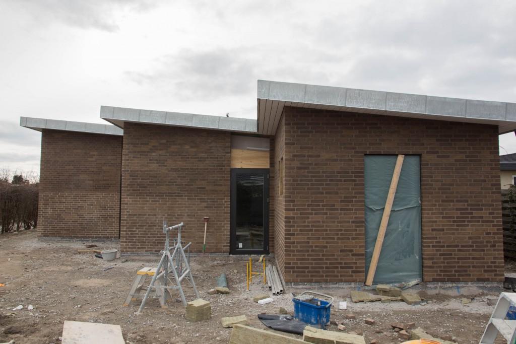 Sådan ser det ud med mursten fra baghaven.