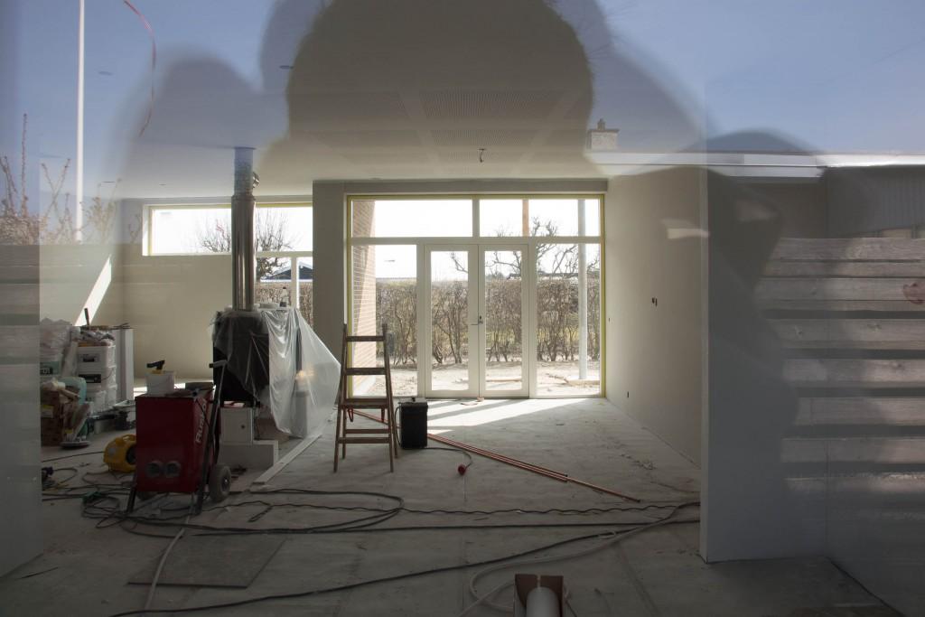 Køkkenalrum som det ser ud lige nu.