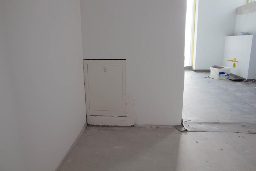 Boks til at styre gulvvarmen fra